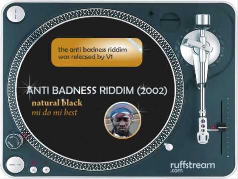 anti badness riddim