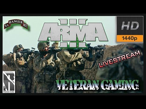 ARMA 3 I 21st US Army Rangers |1440p 60fps | Op Securing Peace - Thurs Open Play | LIVE