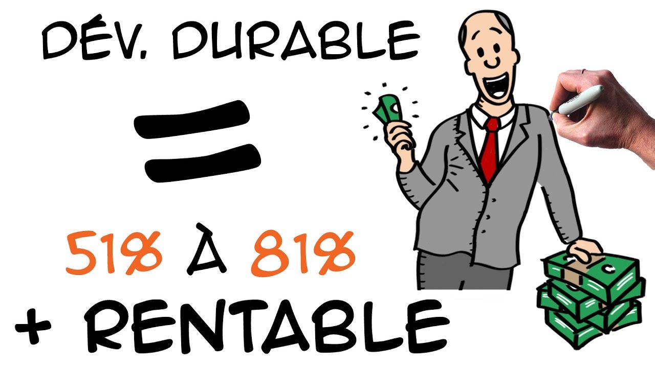 Le d veloppement durable est il rentable en entreprise for Le photovoltaique est il rentable