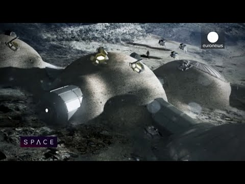 ESA Euronews: Building a Moon base