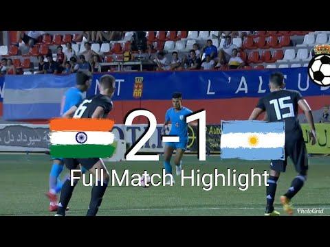 INDIA u20 2-1 ARGENTINA u20 ¦¦ Full Match Highlight - 1080p HD ¦¦