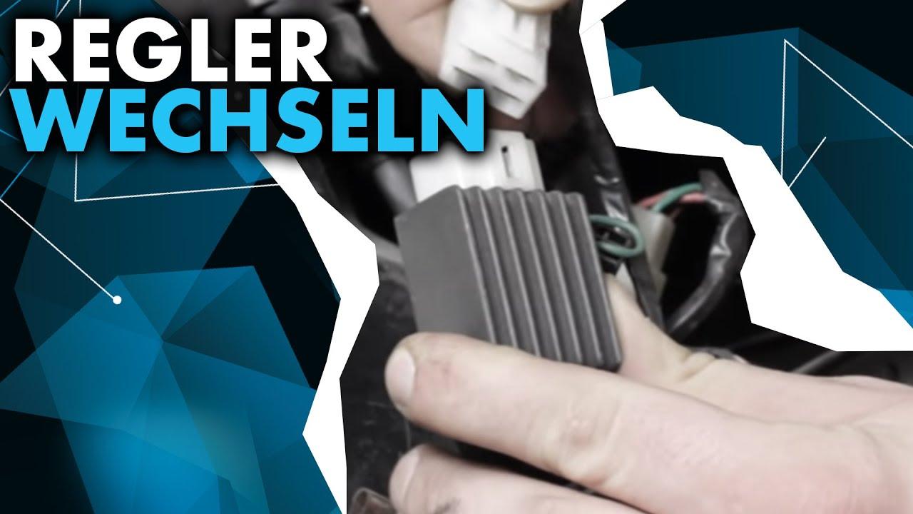 Anleitung: Roller Regler wechseln - YouTube