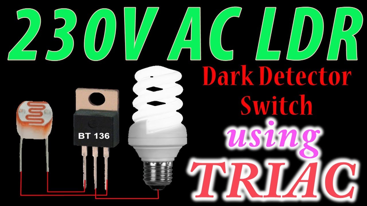 small resolution of 230 volt ac ldr circuit in hindi