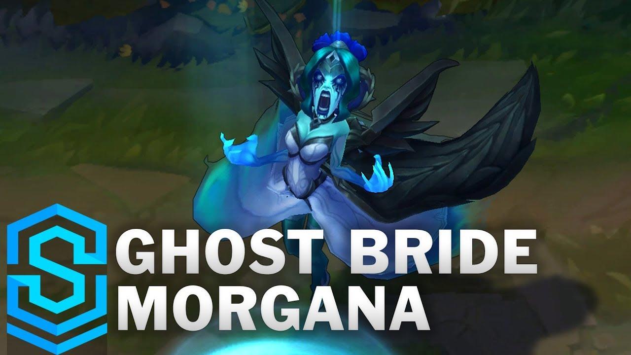 Ghost Bride Morgana (2019) Skin Spotlight - League of Legends