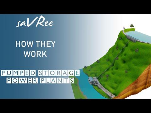 How Pumped Storage Power Plants Work (Hydropower)