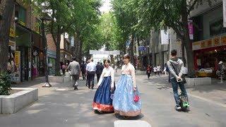 [Walking tour 漫步遊] Street scene Insa-dong Seoul  南韓 首爾 仁寺洞 街景