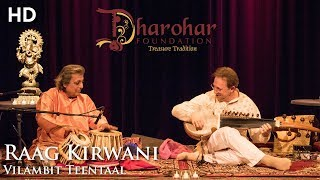 raag kirwani ken zuckerman pt swapan chaudhuri live 18112017