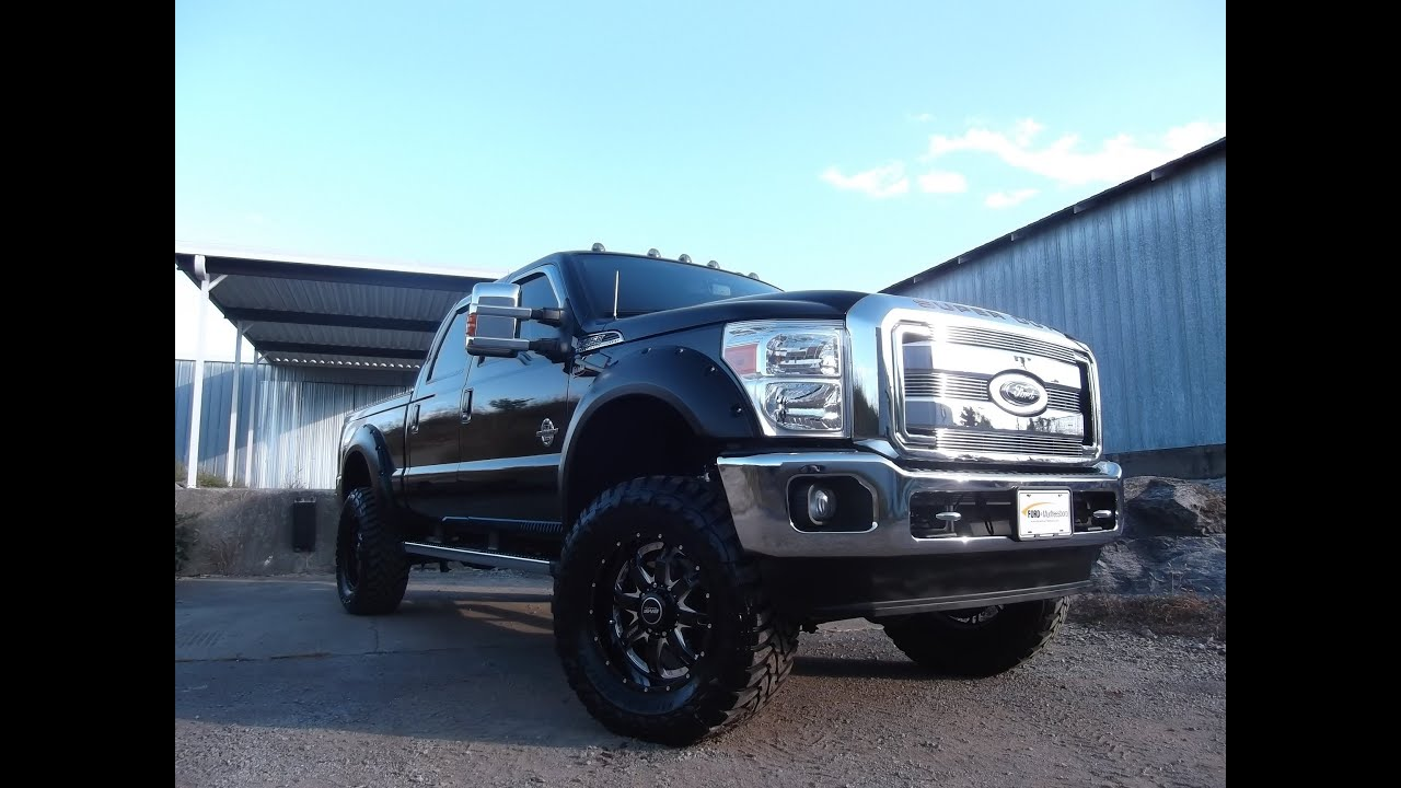 Sold Black F350 Lifted