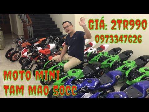 👉👉👉 Xe Moto Mini Tam Mao 50cc Giá Rẻ I ☎️ :0973347626