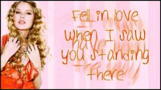 Taylor Swift - Today Was A Fairytale + Lyrics