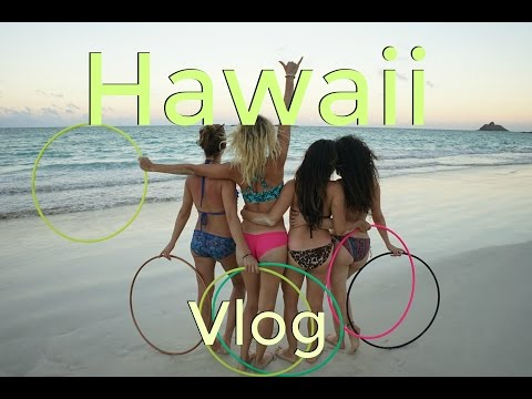 4 Hoop Girls Dancing on 20ft Scaffolding | Hooptown Hawaii Vlog
