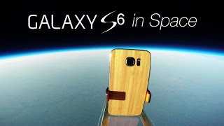 Galaxy S6 to the Edge of Space