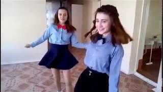 Школьный шаффл // Буланова Т. - Ясный мой свет // Танцы Ютуберов