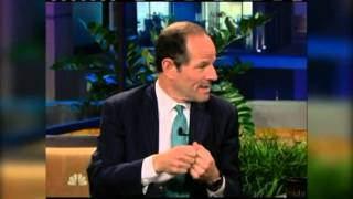 Eliot Spitzer on Leno: Hubris was terminal