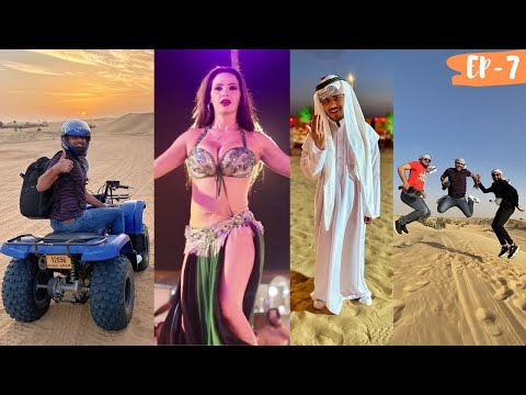 DUBAI DESERT SAFARI – BELLY DANCE, ATV RIDE, UNLIMITED FOOD 😱