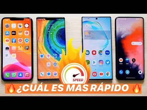 IPhone 11 Pro Max Vs Galaxy Note 10+ Vs Mate 30 Pro Y OnePlus 7T Pro | TEST VELOCIDAD EXTREMO!!