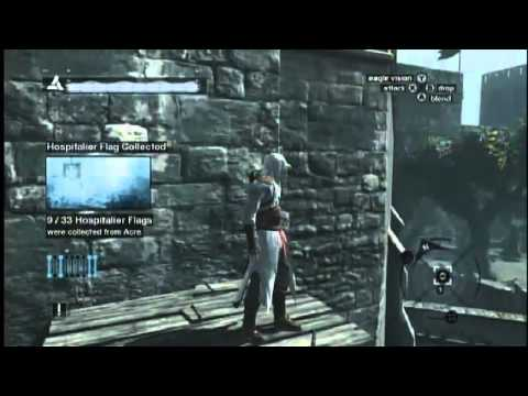 Assassin's Creed All 33 Hospitalier Flags In Acre Poor District (1 Of 2)