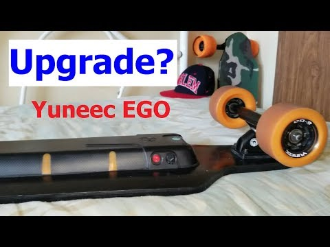 HOW TO UPGRADE THE YUNEEC EGO ELECTRIC SKATEBOARD 😎