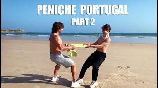 Португалия, Сёрфинг на Пенише, Тренировки на отдыхе.
