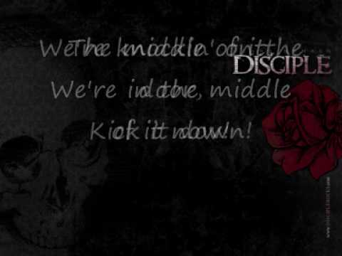disciple in the middle of it lyrics