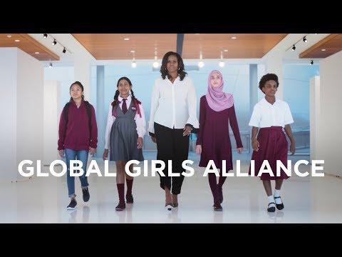 D. K. Smith - Michelle Obama Announces Global Girls Alliance