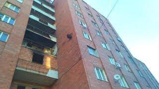 Bu dahshat! Shox eng dahshatli va mashhur qizil shaharchasi - Qahramonlar Avenue 1 Balakovo