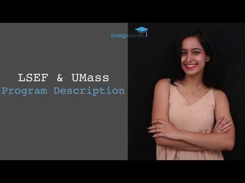 LSEF & UMASS Scholarship- Program Description- Data Analytic & Computational Social Science