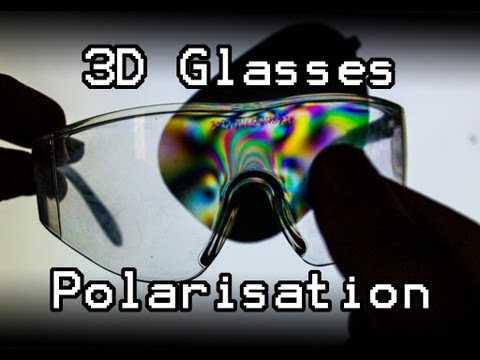 How do 3D glasses and Polarisation Work?