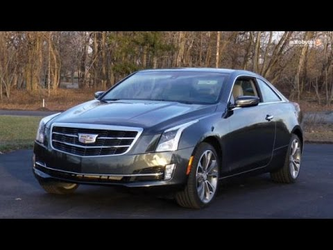 2015 cadillac ats coupe 2 0t awd test drive video review youtube. Black Bedroom Furniture Sets. Home Design Ideas