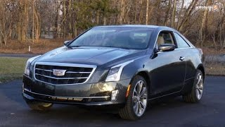 2015 Cadillac ATS Coupe 2.0T AWD Test Drive Video Review