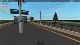 Roblox | Trains | TRH Class 156 pulls into Bhylls Acre