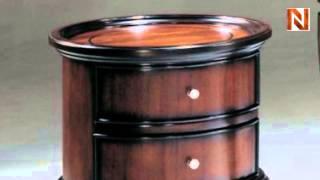 Mandarin Chairside Table 819-06 By Fairmont Designs