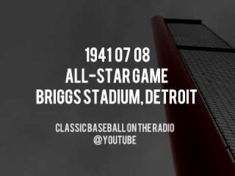 1941 07 08 All Star Game at Briggs Stadium Detroit Complete Radio Broadcast