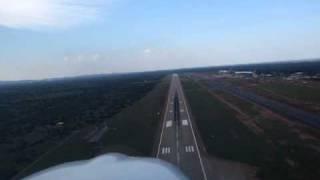 Landing Sir Seretse Khama International Airport Botswana FBSK
