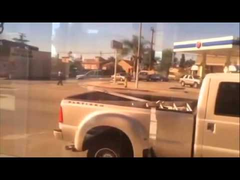 (WARNING GRAPHIC POLICE VIOLENCE) Los Angeles County Sheriffs Gun Down Man