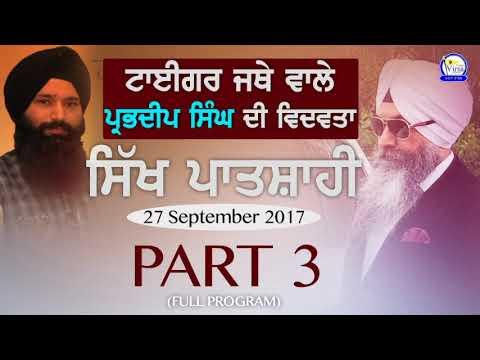 ਟਾਈਗਰ ਜਥੇ ਵਾਲੇ ਪ੍ਰਭਦੀਪ ਸਿੰਘ ਦੀ ਵਿਦਵਤਾ   Tiger Jatha UK   Sikh Patshahi   Part 3/3   Radio Virsa NZ