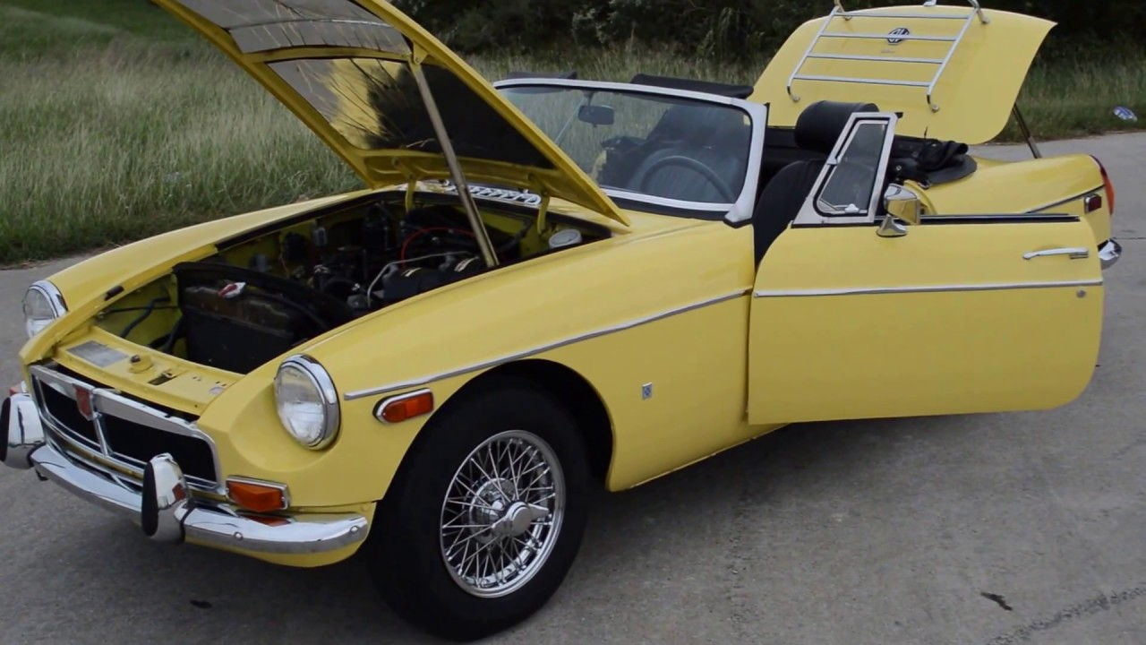 1974 MGB - Frank\'s Car Barn - Buy, Sell and Trade Classic Cars - YouTube