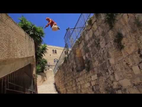 Assassin's Creed: meets Real Life Parkour in Jerusalem, The Holy Land