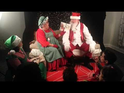Storytime with Mr & Mrs Claus @ Education Play Station Nov 23 2013