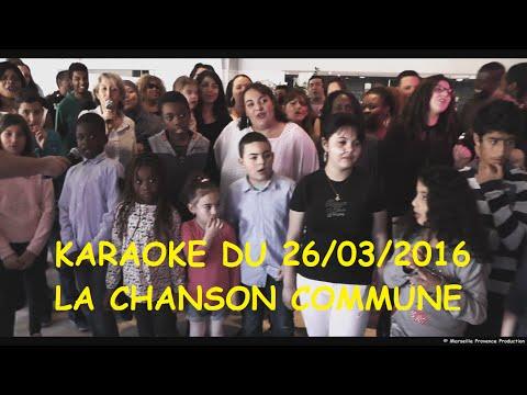 Karaoké avec Graine2tournesols - La chanson commune