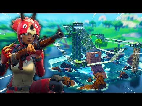 SNIPER VS RUNNERS v3 - Fortnite Playground met Link en Joost