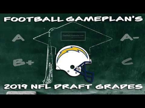 Football Gameplan's 2019 NFL Draft Grades: Los Angeles Chargers