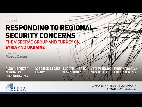 Panel | Responding to Regional Security Concerns: The Visegrád Group and Turkey on Syria and Ukraine