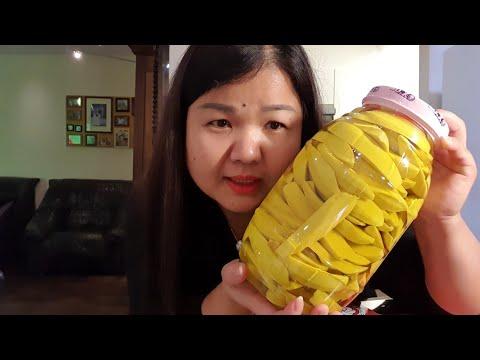 กินมะม่วงดองเปรี้ยวแซ่บซี๊ดจ๊าดได้ใจจริงๆค่ะ