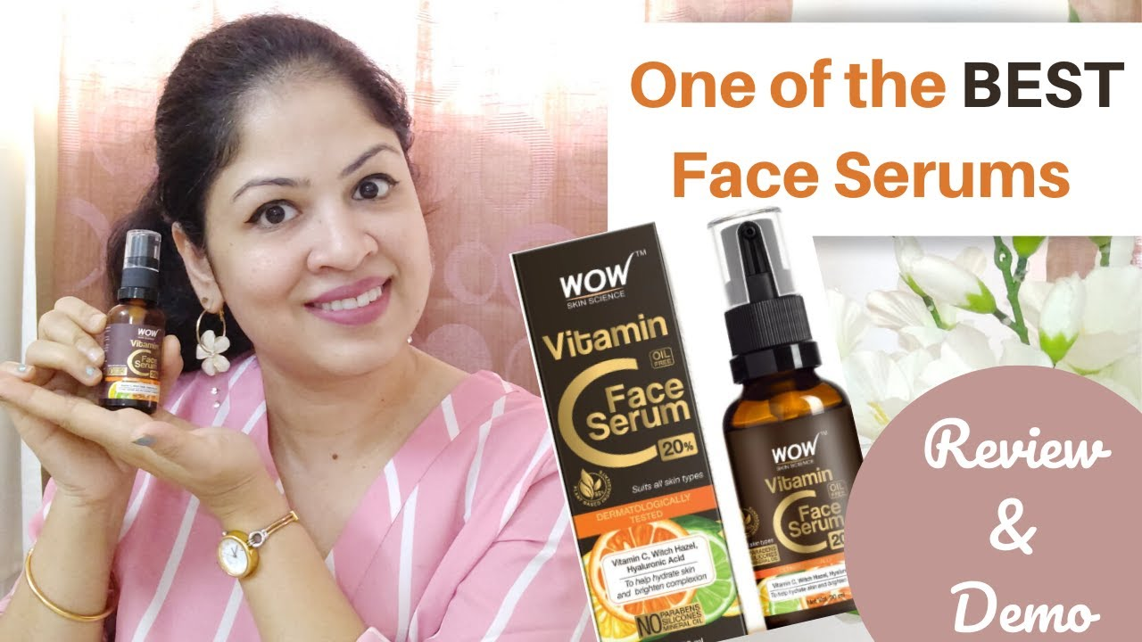 Wow Skin Science 20% Vitamin C Face Serum | Best Vitamin C Serum for glowing skin | Review & Demo