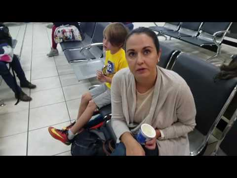Kids at The Airport in Peru: How We Travel