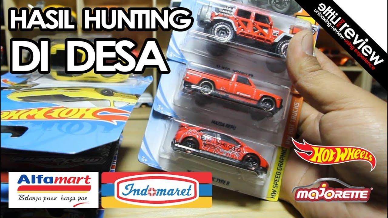 Hasil Hunting Hotwheels Di Alfamart Indomaret Desa Pati Youtube