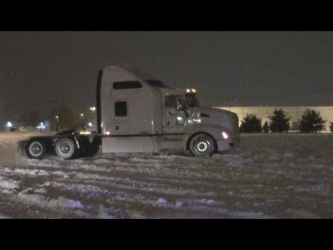 2013 Snow Drifting Ft. Tractor trailer (Chicopee MA)