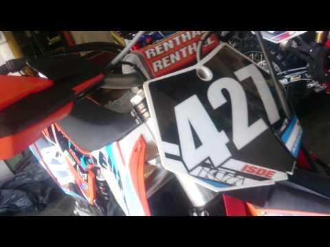 KTM XC 250 ENDURO MOTOTIME DESIGN - KARSON GRAPHICS - ISDE ARGENTINA 2014