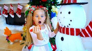 ダイアナ、パパとクリスマスの準備をする!